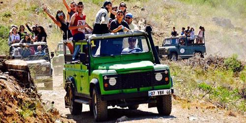 jeep safari antalya
