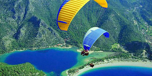 parapente du mont tahtali Antalya
